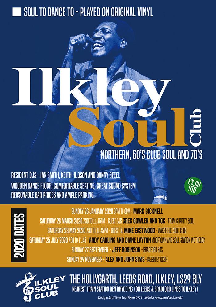 Ilkley Soul Club flyer