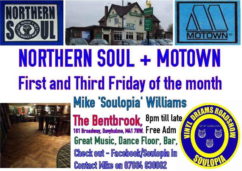 Davyhulme Soul Club Bentbrook flyer