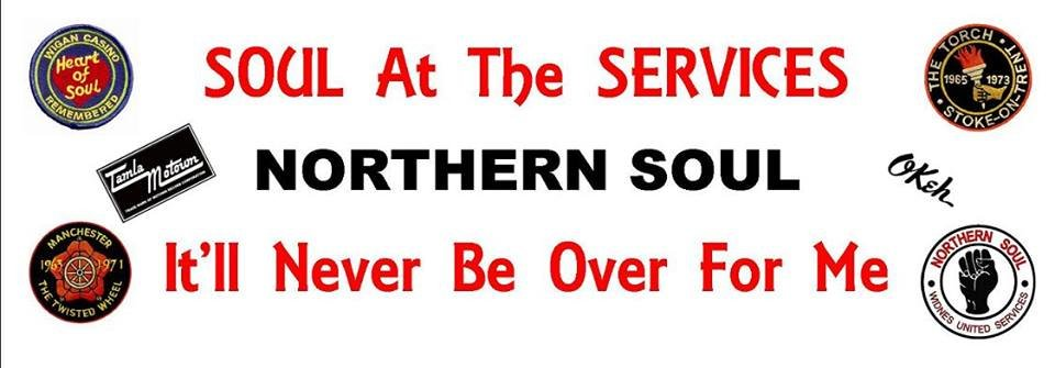 Soul At The Services With Ste Fallon flyer