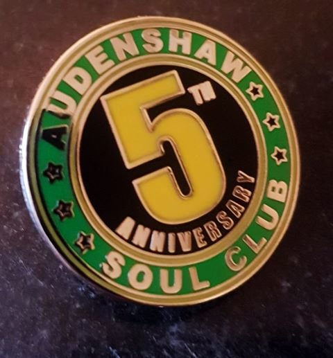 Audenshaw Soul Club Manchester 5th Anniversary flyer