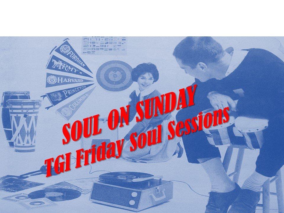 T G I Friday Valentines Soul Night flyer
