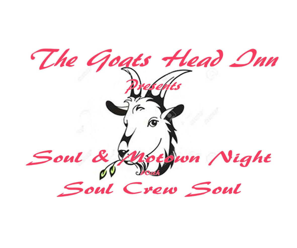 Soul  Motown Night flyer
