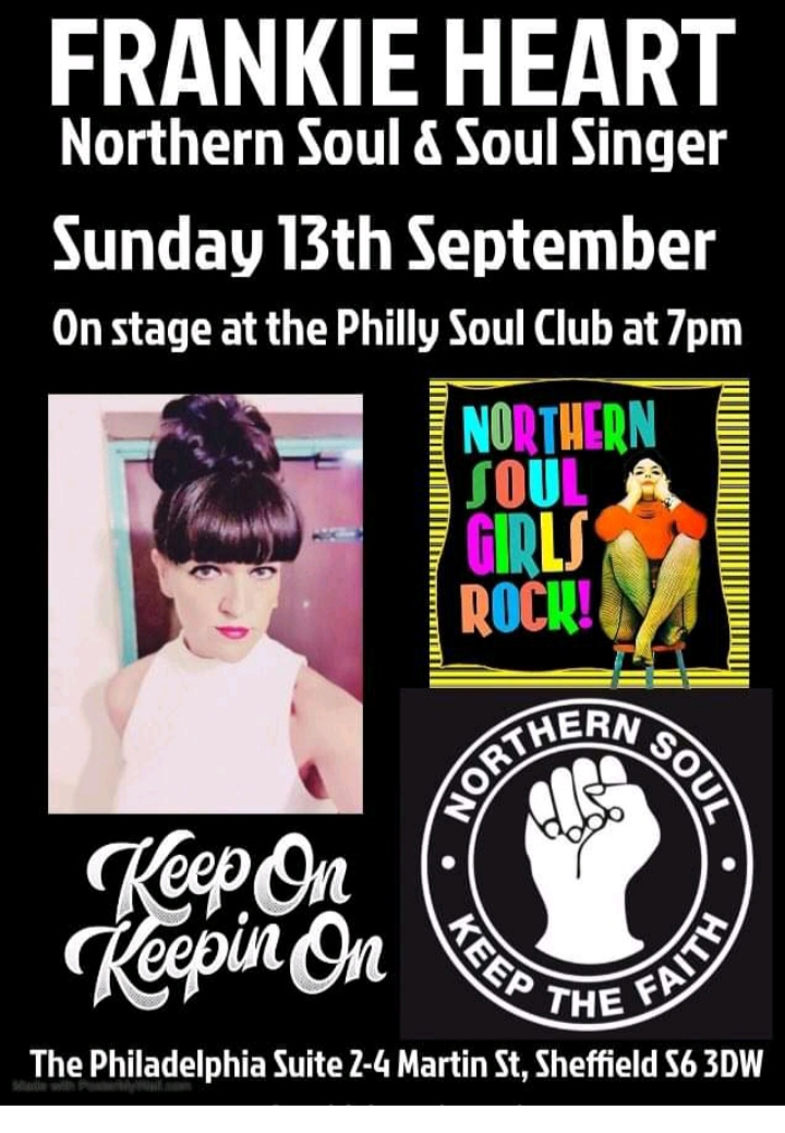 The Philly Soul Club flyer