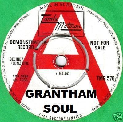 Grantham Soul Guest Dj Rob Smith flyer