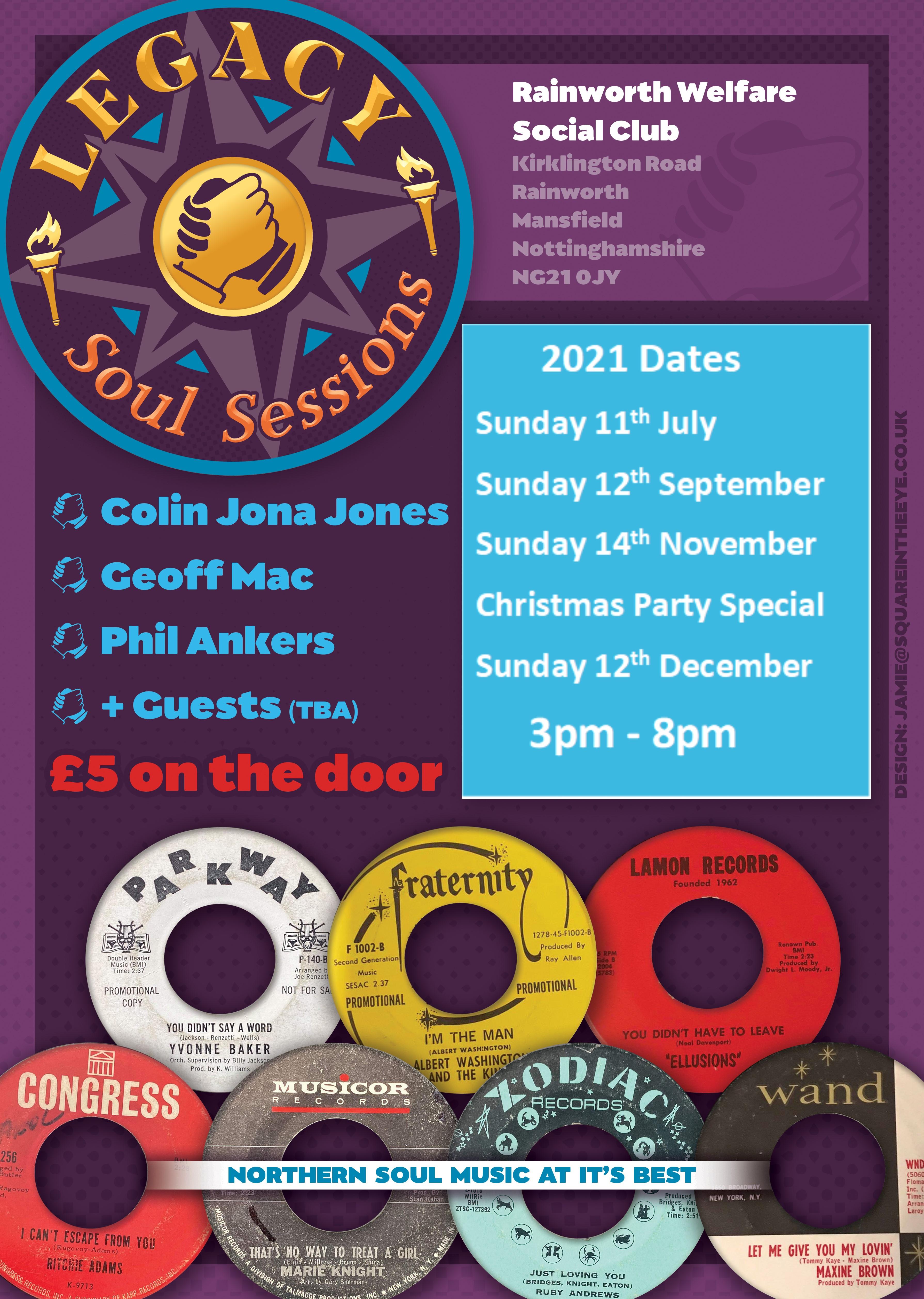 Sunday Soul Session flyer