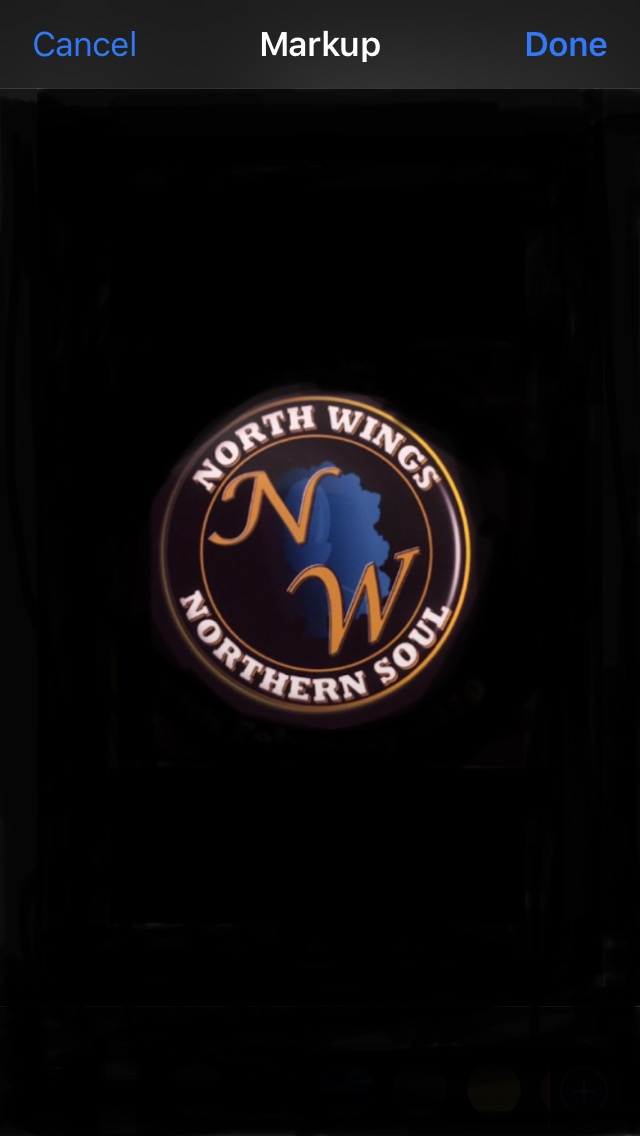 North Wings Northern Soul Club flyer