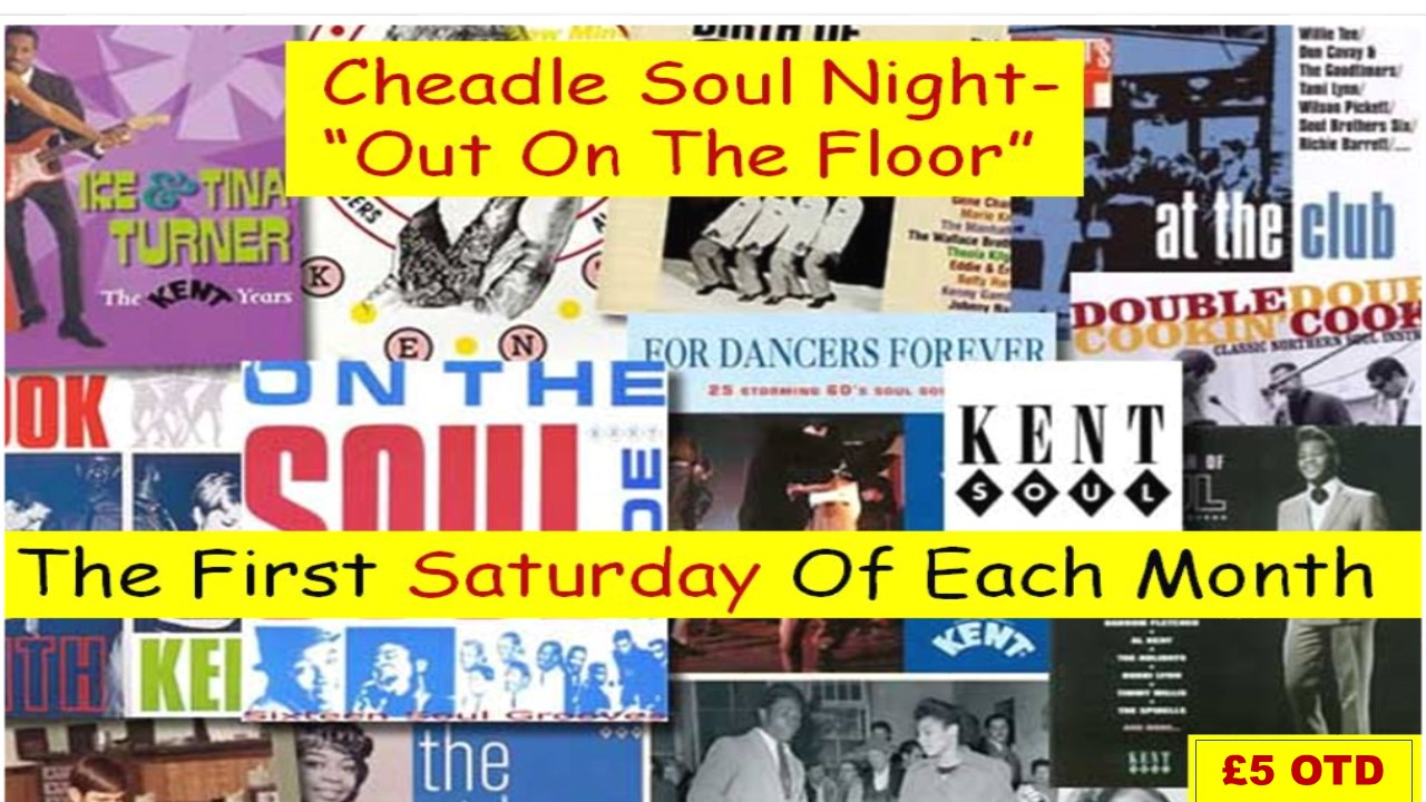 Cheadle Soul Club Its Back  flyer