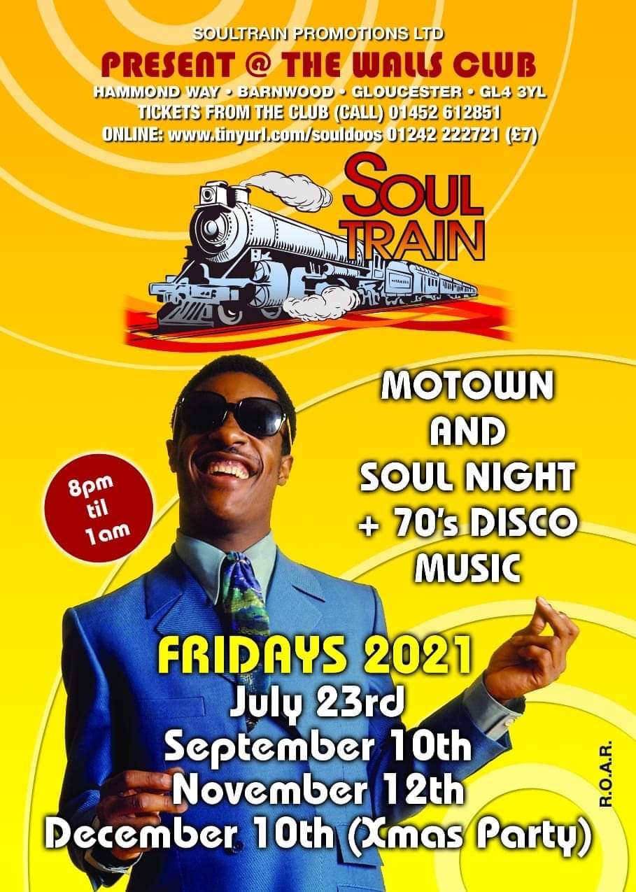 Motownclassic Soul70s Disco Classics flyer