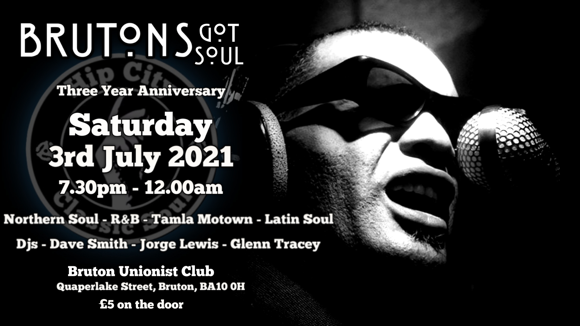Brutons Got Soul  Cancelled Due To Covid Restrictions flyer