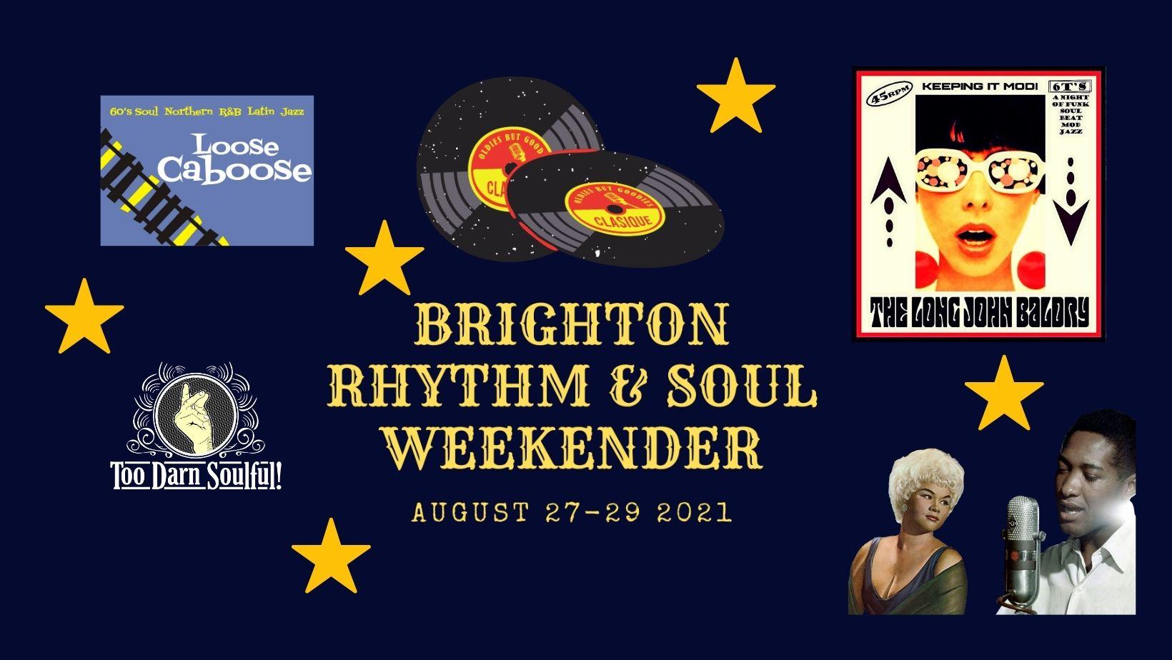 Brighton Rhythm  Soul Weekend flyer