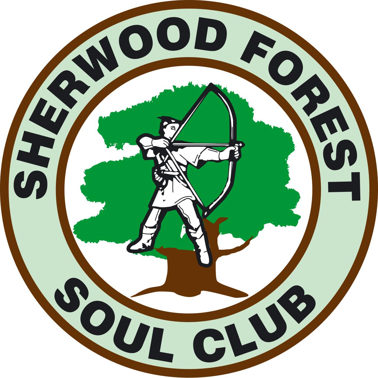 Sherwood Forest Soul Club Bilsthorpe Notts flyer
