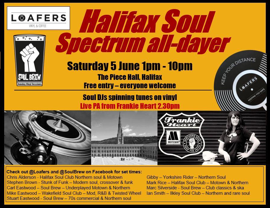 Soul Brew Presents Halifax Soul Spectrum Alldayer flyer