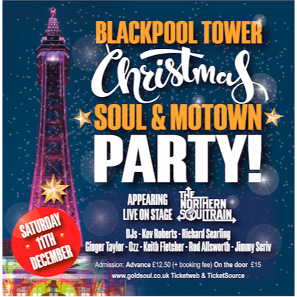 Blackpool Tower Soul Party flyer
