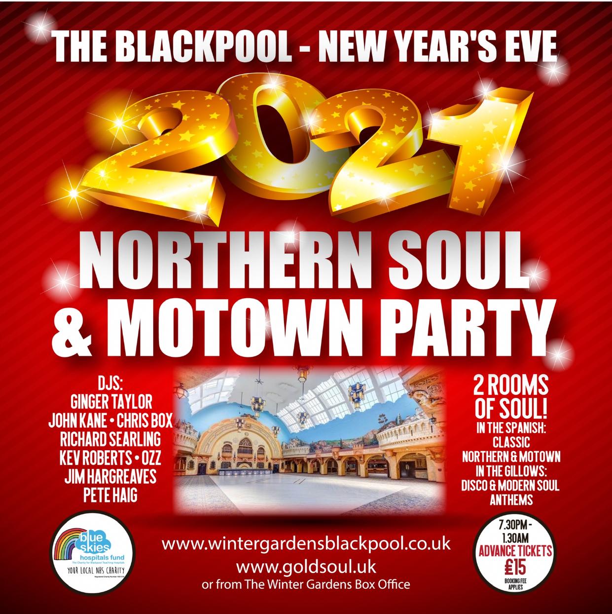 Blackpool Winter Gardens flyer
