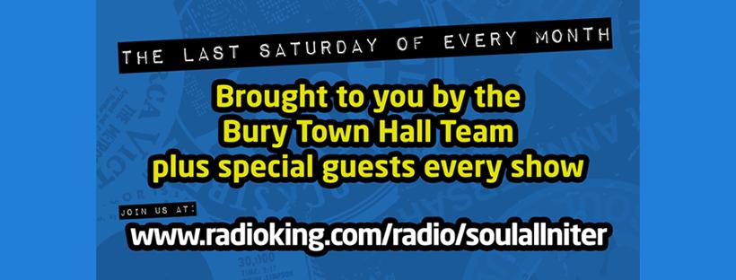 Bvan  Bury Virtual Allnighter Pre Lockdown Release flyer