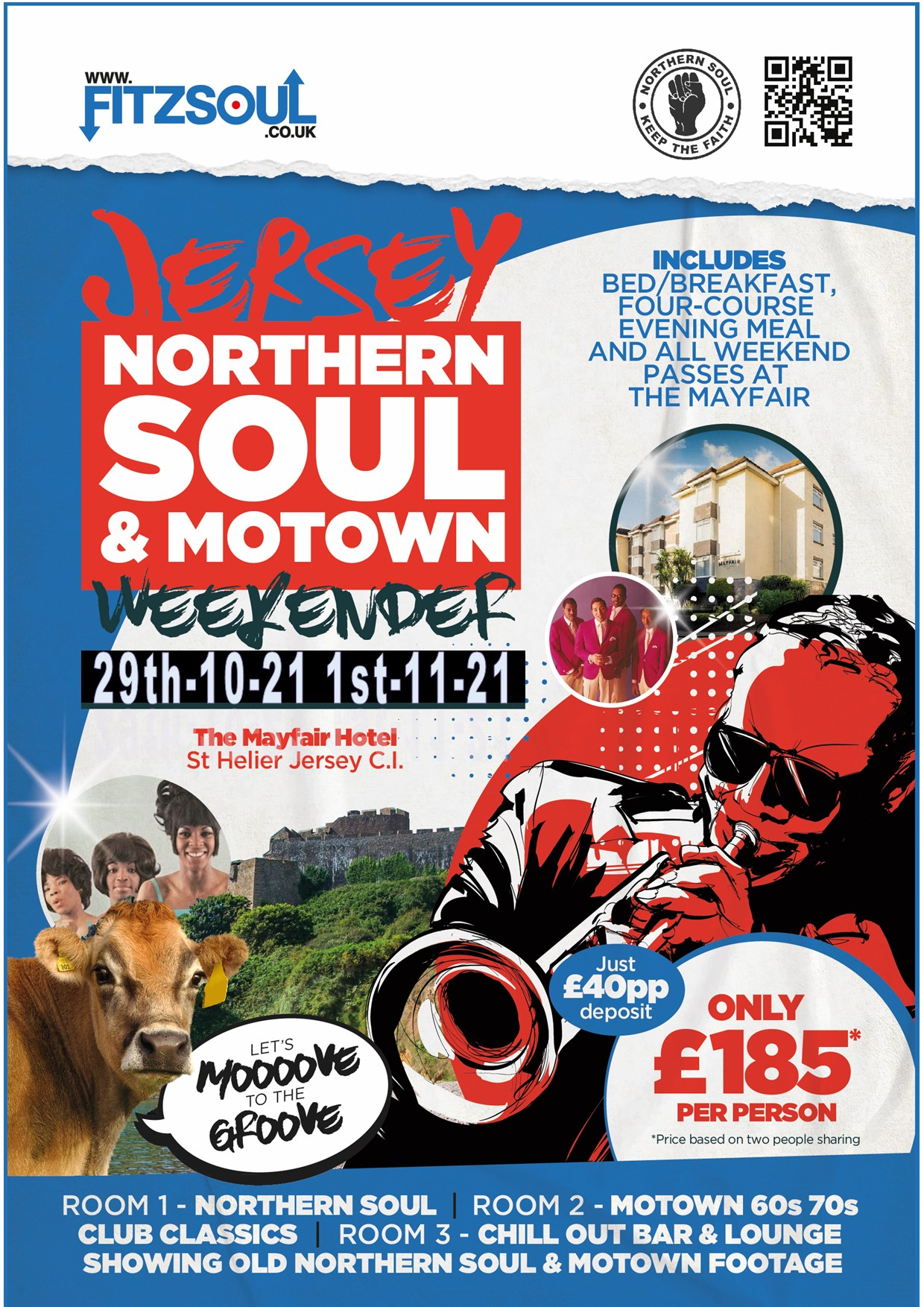 Jersey Northern Soul And Motown Weekender flyer