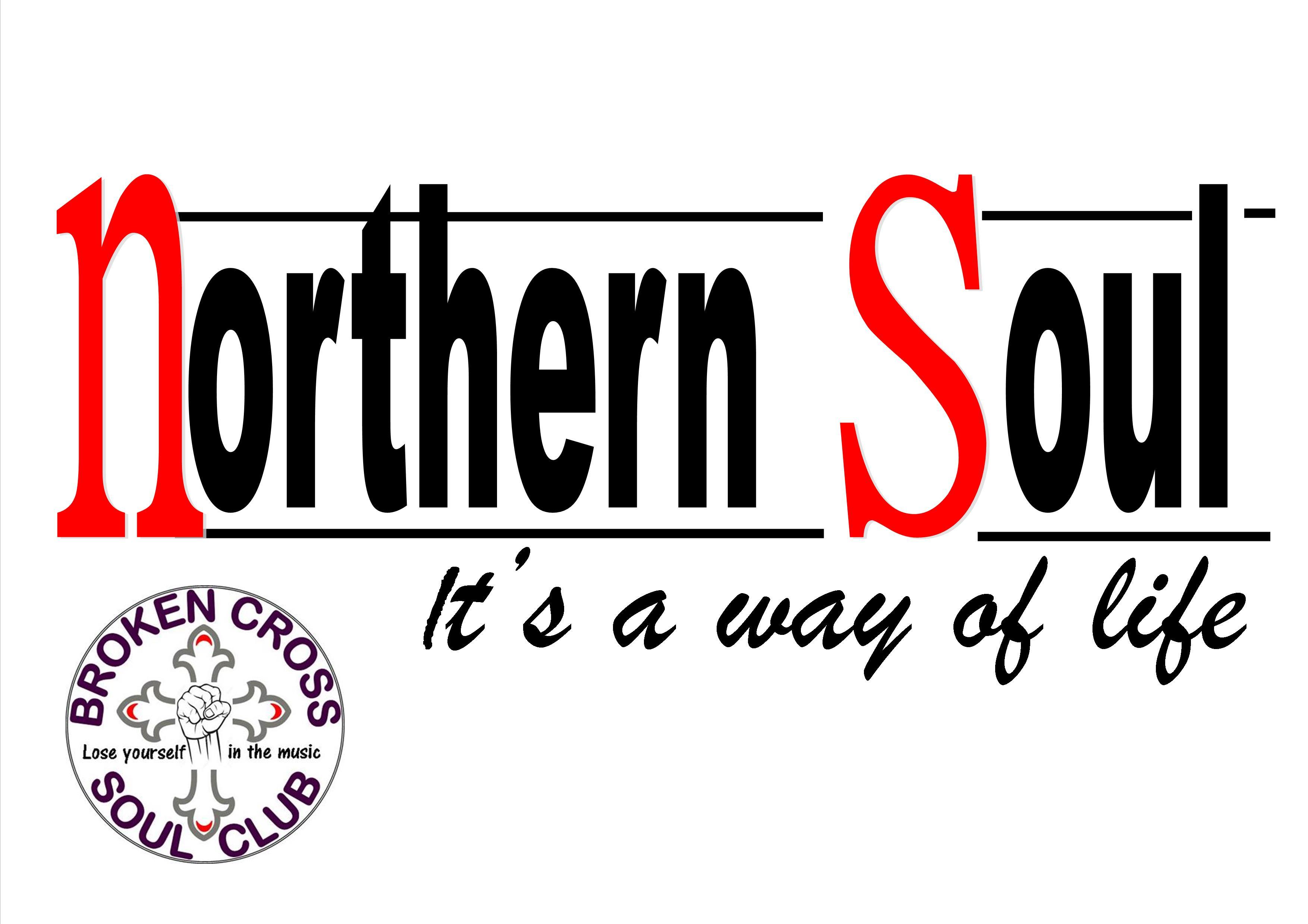 Broken Cross Soul Club flyer