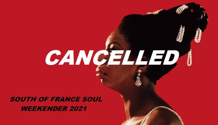 Cancelled  South Of France Soul Weekend flyer