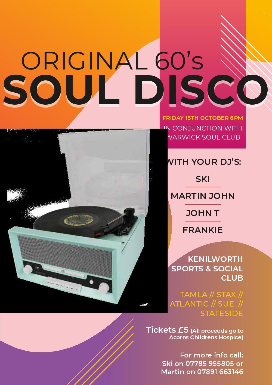 Soul Disco flyer