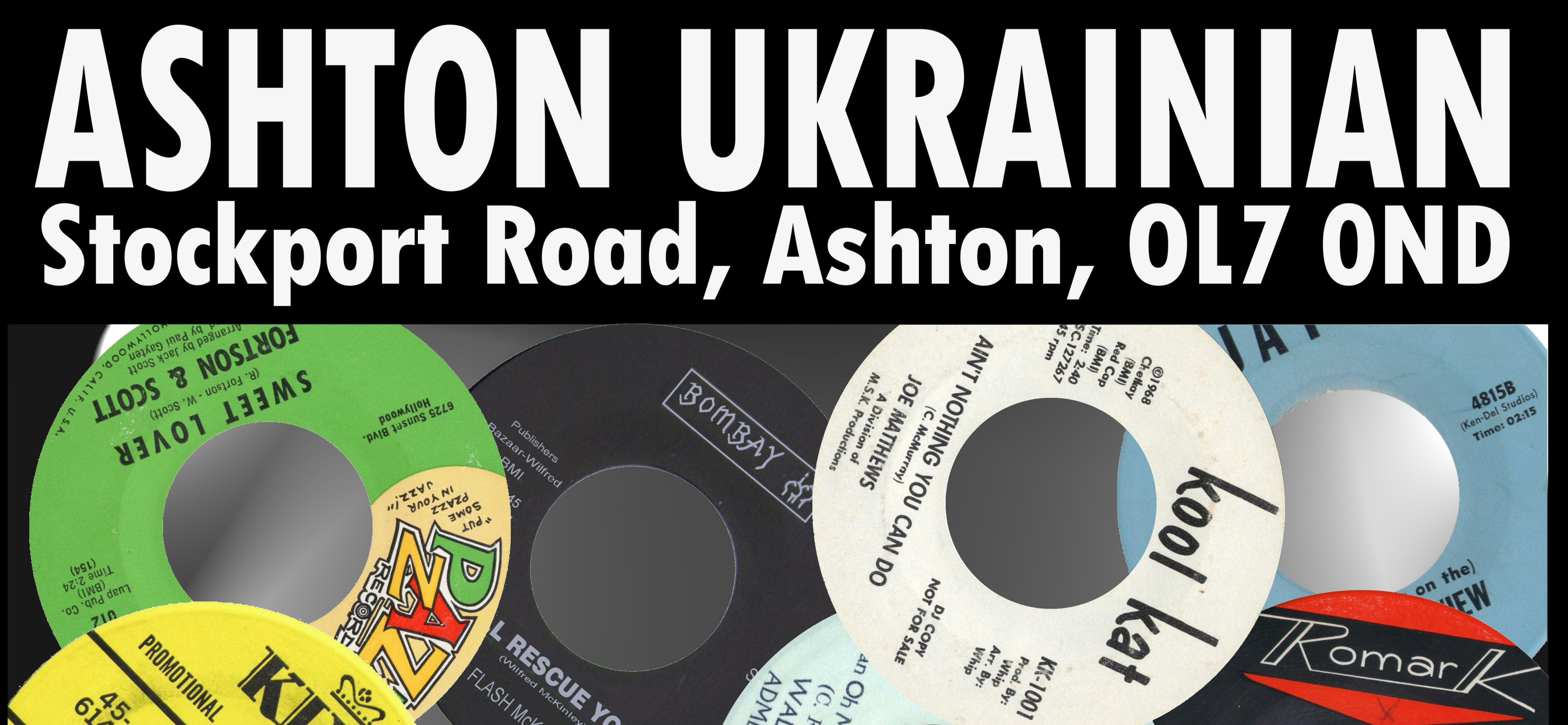 Ashton Ukrainian Club Rescheduled flyer
