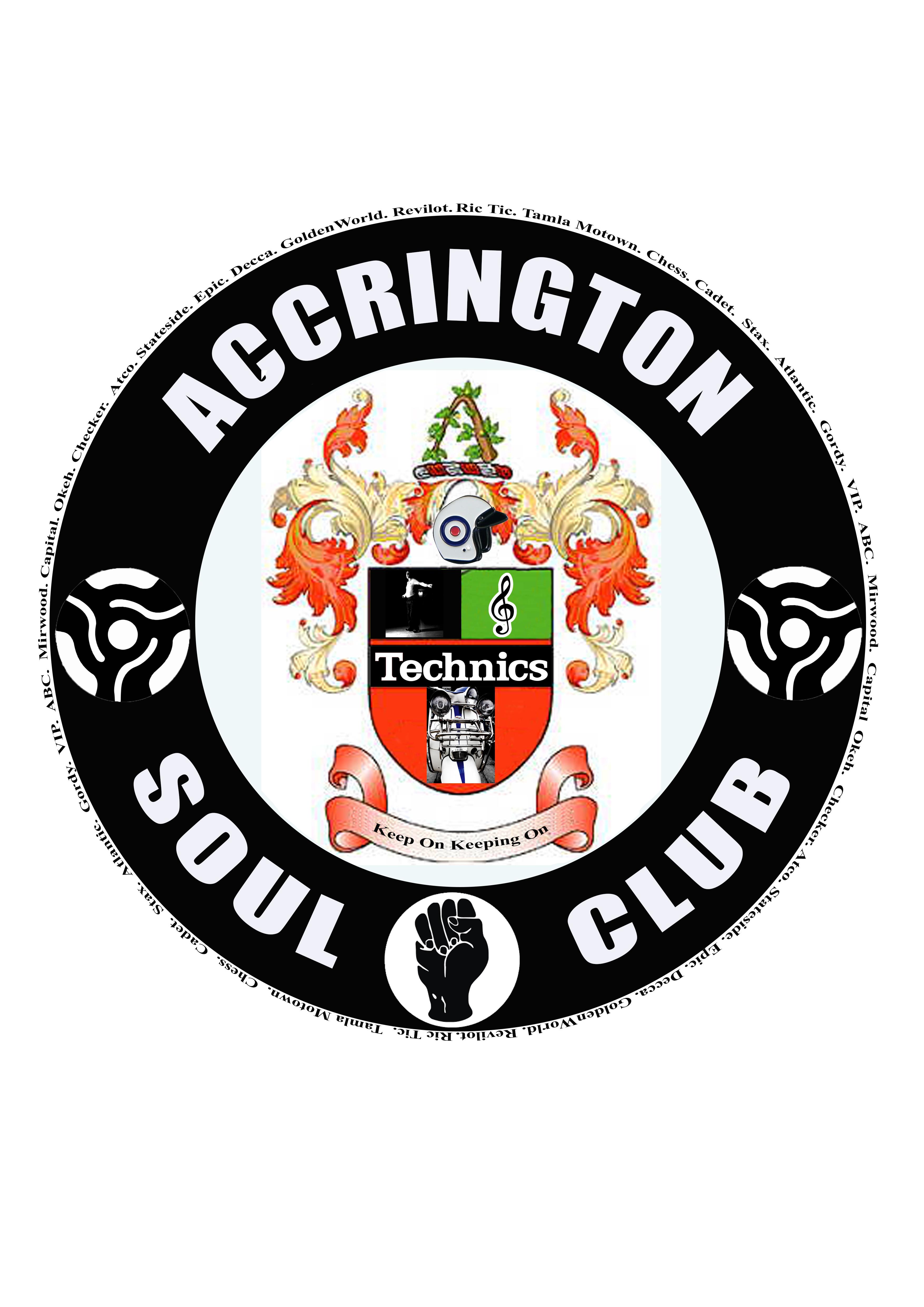 Accrington Soul Club flyer