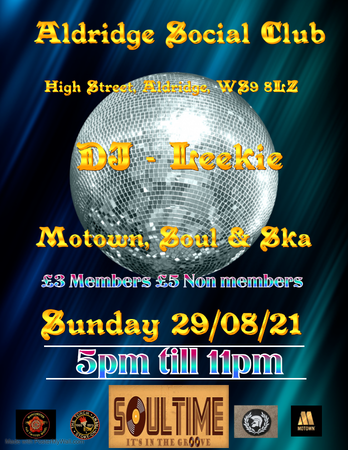Return Of The Youth Club flyer