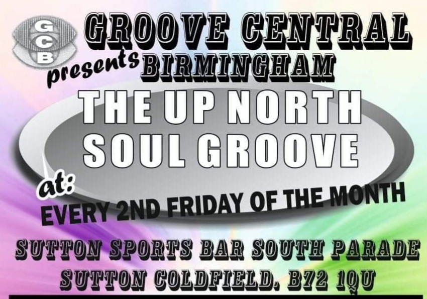 Groove Centrals Up North Soul Groove flyer