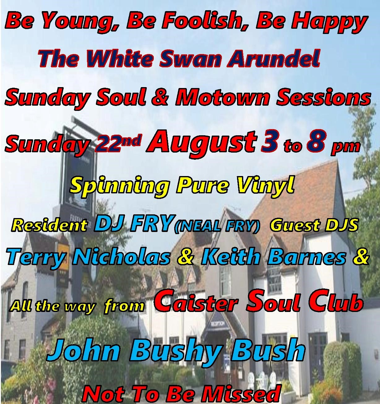 Be Young Be Foolish Be Happy Arundel West Sussex flyer