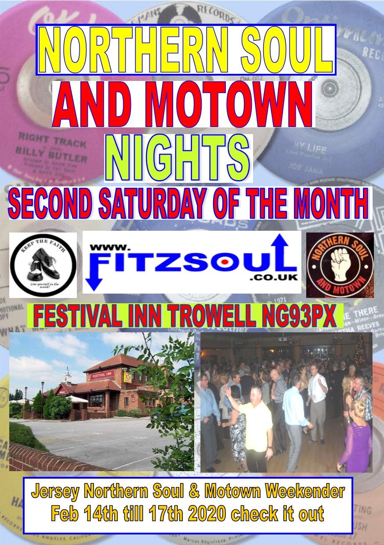 The Festival Inn Northern Soul  Motown Night flyer
