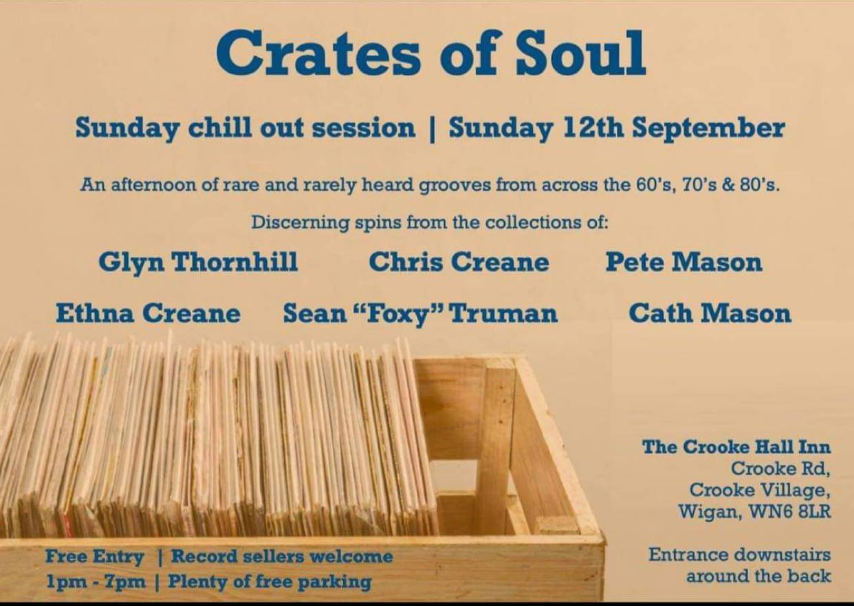Crates Of Soul flyer