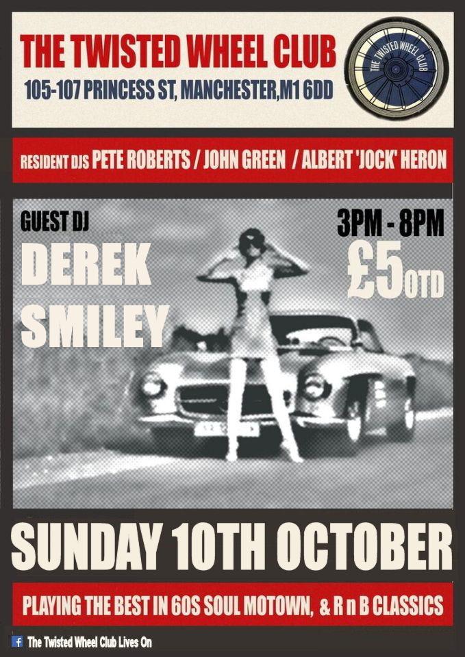 Twisted Wheel Sunday Soul Session flyer