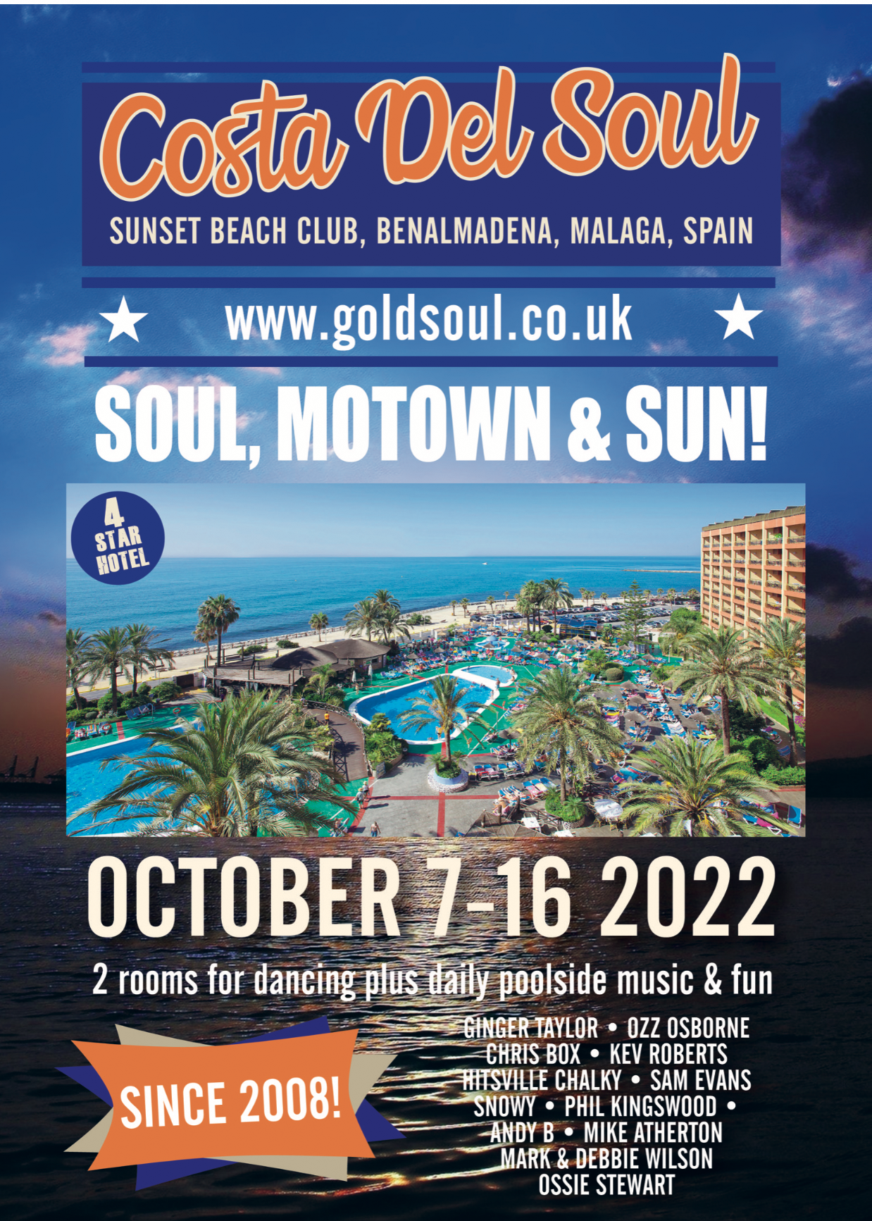 Costa Del Soul Benalmadena flyer