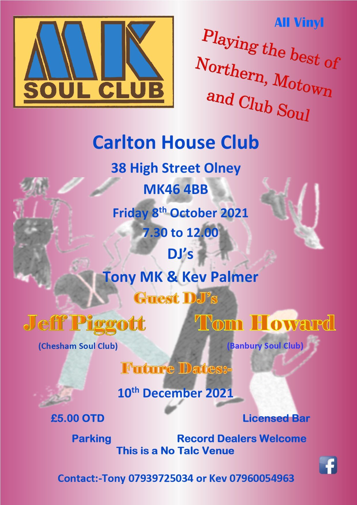 Mk Soul Club flyer