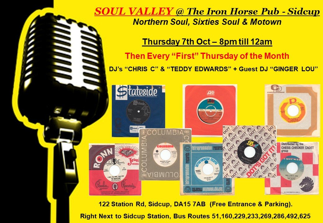 Soul Valley  Sidcup flyer