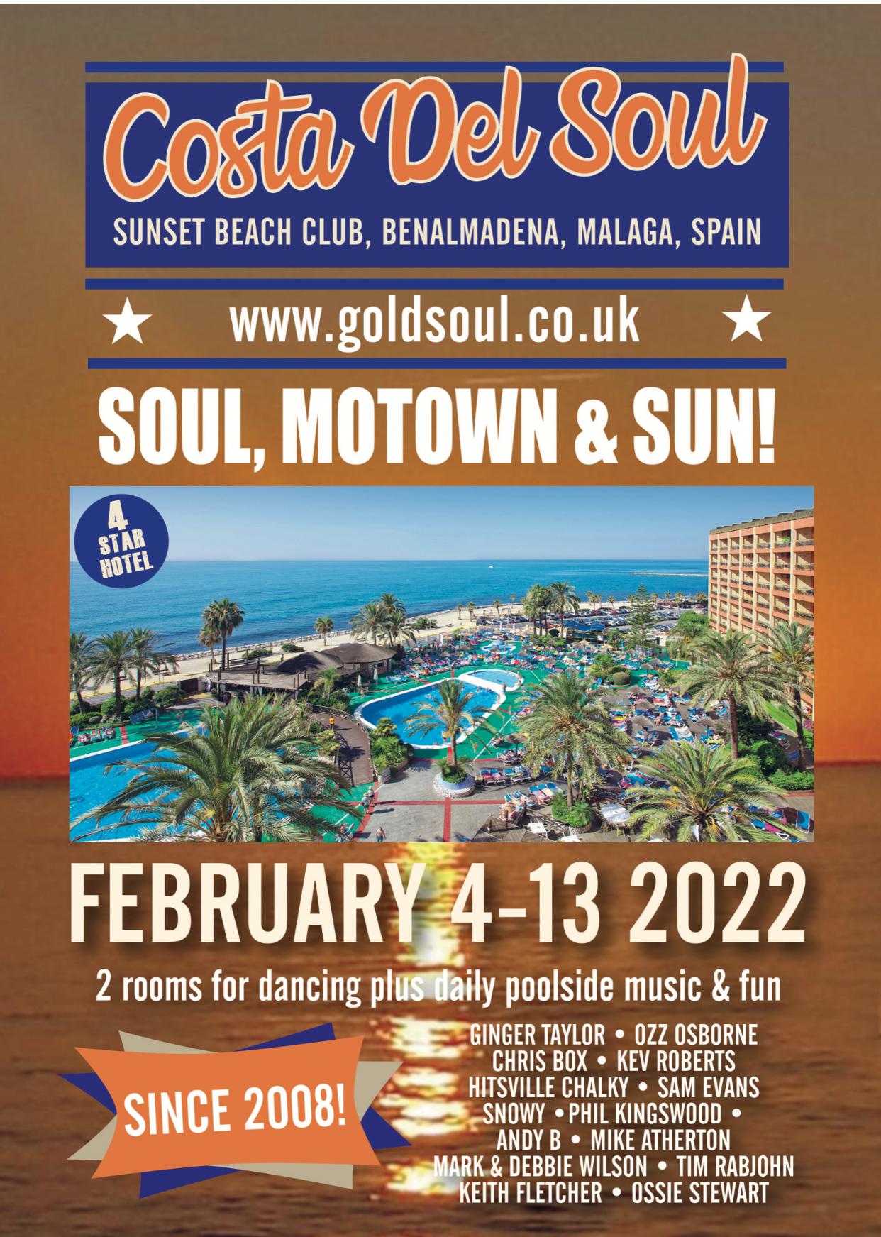 Costa Del Soul Benalmadena Since 2008 flyer