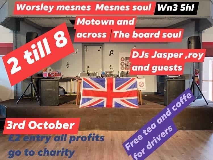 Worsley Mesnes Soul Club flyer