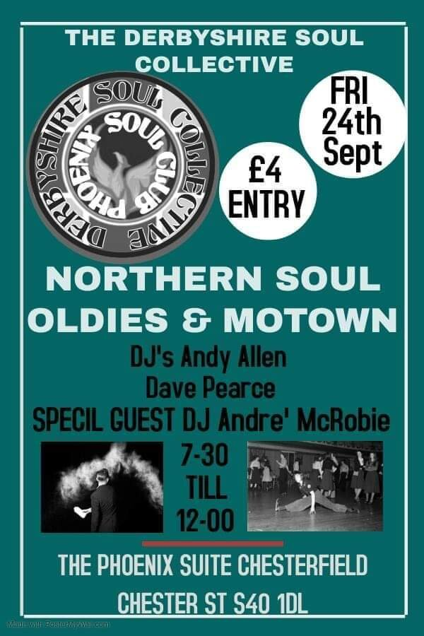 Phoenix Soul Club flyer